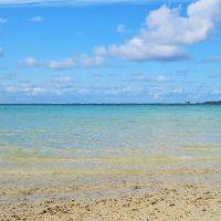 エメラルドビーチは目の前。透明度の高い美しい海。