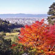紅葉時期が最高 京都市街を望む比叡山麓の広大な離宮