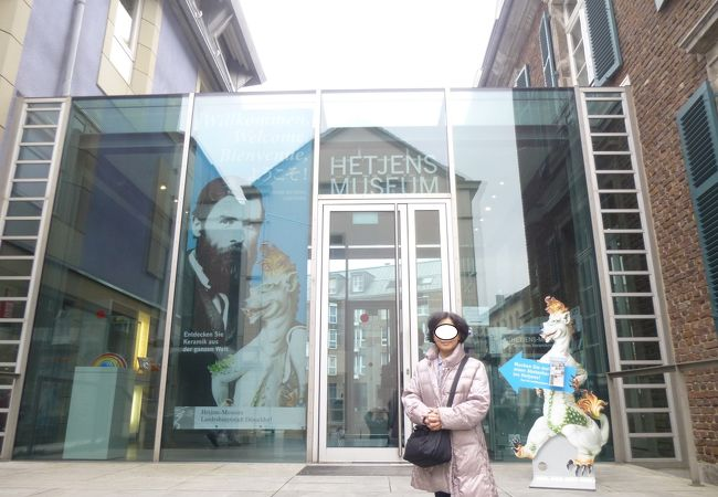デュッセルドルフ旧市街観光で最後に訪れたヘッチェンス(陶磁器)博物館。