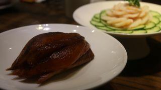 チムサーチョイで北京ダックがリーズナブルに食べられる店