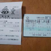 5回分の購入に限り、青春18きっぷが11520円で購入可能です