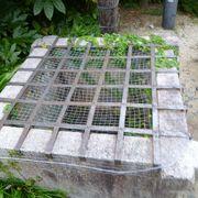 四角い井戸に蔦は絡まず