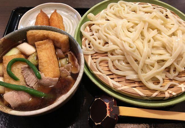 肉汁うどん+いなり寿司