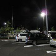意外なくらい深夜の駐車場使用率が高かったです
