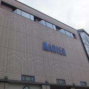 電鉄富山駅の駅ビルです。