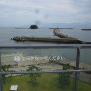 富山湾ののぞむ展望台