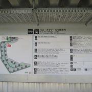 第3ターミナルもバス交通の利便性は同じです。