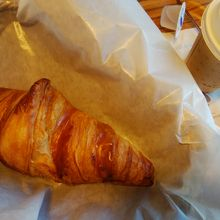朝食セット クロワッサンと飲み物