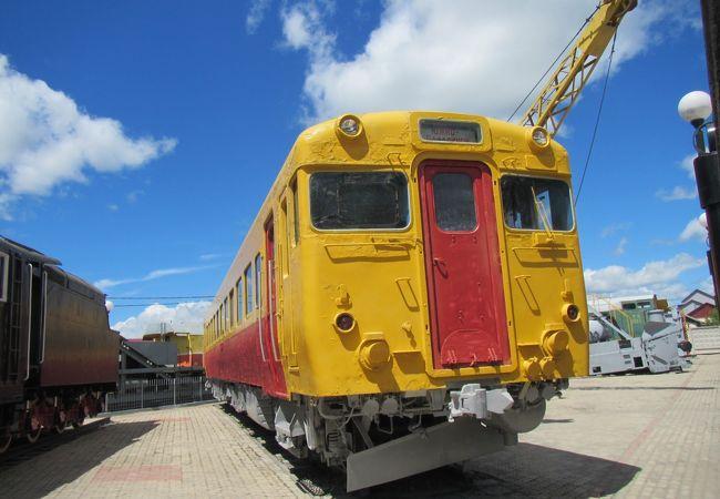 鉄道車両展示場