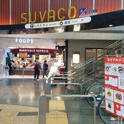 買い物など便利な「SUVACO」