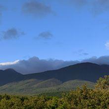 雲海ラウンジからの眺望
