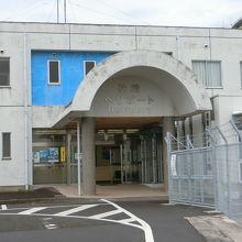 鹿児島県の防災ヘリの基地。