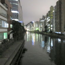 亀島川夜景