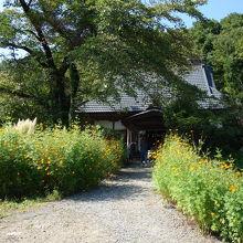 長瀞七草の葛のお寺です