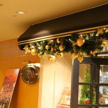 セリーナ入口もクリスマス仕様