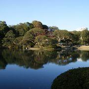 湖面に映る景色が素晴らしい