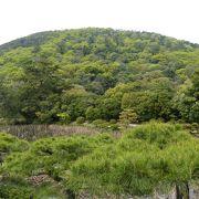 紫雲山も栗林公園の一部