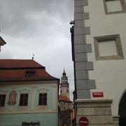城下町の中心地