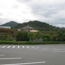 石鎚山SA周りの景色