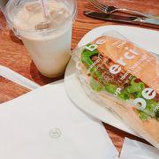 朝ごはんにサンドイッチ