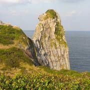 壱岐の名所「猿岩」と「黒崎砲台跡」
