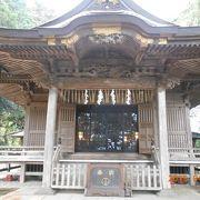 ひっそりとしたところにある神社