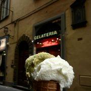 フィレンツェの有名ジェラテリア