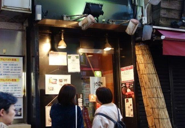 人気のお肉屋さん2階に有る直営レストラン