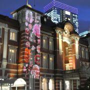 混雑しているよ!東京駅が美しいよ!