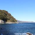 写真:穴切海岸 遊歩道