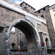 イタリア北部の古代ローマ遺跡