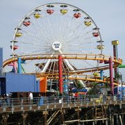 LA観光でサンタモニカへ まずはSanta Monica Pierを散歩