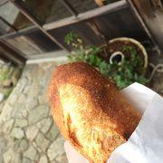 フランスパンが美味しい