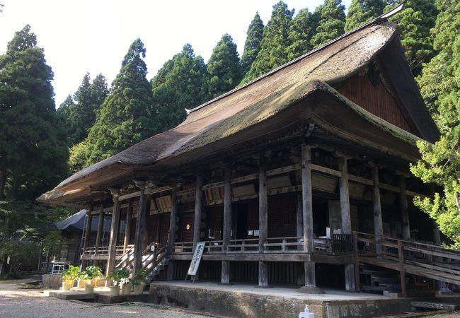 とても良い雰囲気のお寺