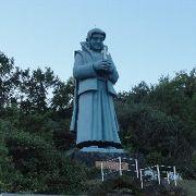 巨大な天草四郎像