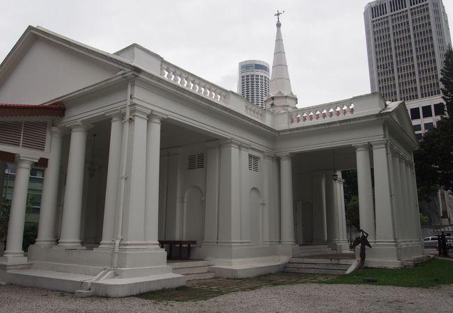 シンガポール最古のキリスト教会