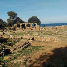 古代ローマ教会の跡