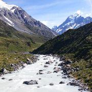 氷河を見る事が出来ました