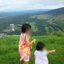 晴れていたら、眺めは最高!羊蹄山が見えますよ。