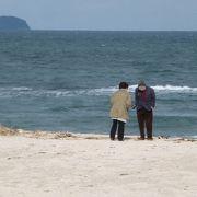 透明度の高い日本海だわぁー