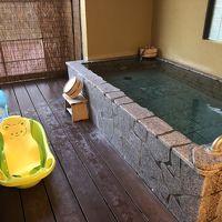 好きな時に入れる露天温泉風呂