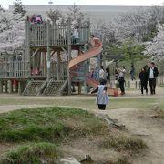 桜がキレイな公園です