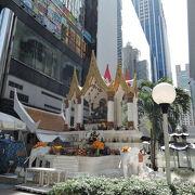 ビジネス厄除けのインドラ神を祀る祠
