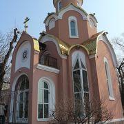 S-56潜水艦博物館近くにある小さくてかわいい教会