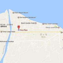 ティモールプラザは、ディリ市の西の郊外に新たに建設されました