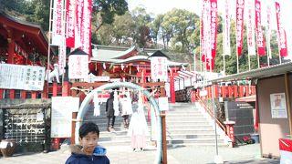 熊本城下にある稲荷神社
