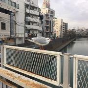 旧東海道保土ヶ谷宿に流れる川!