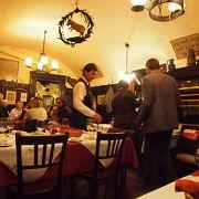 ウィーンで最も古い歴史あるレストラン!アコーディオン演奏もあり。