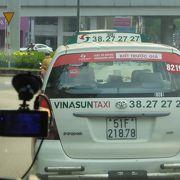 安全なタクシー