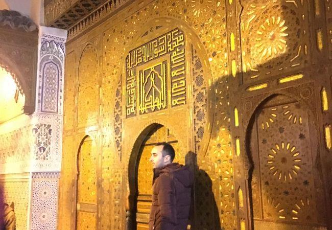 日没後でしたので。残念! ムーレイイスマル廟